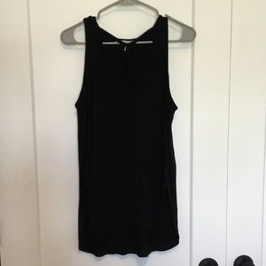 Express tank with strappy front detail